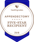 Appendectomy Healthgrades award