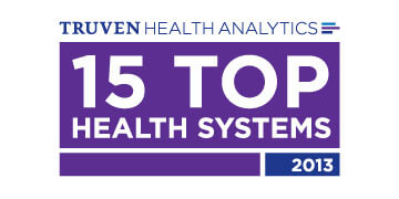 Truven Health Analytics 15 Top Health Systems 2013 Award